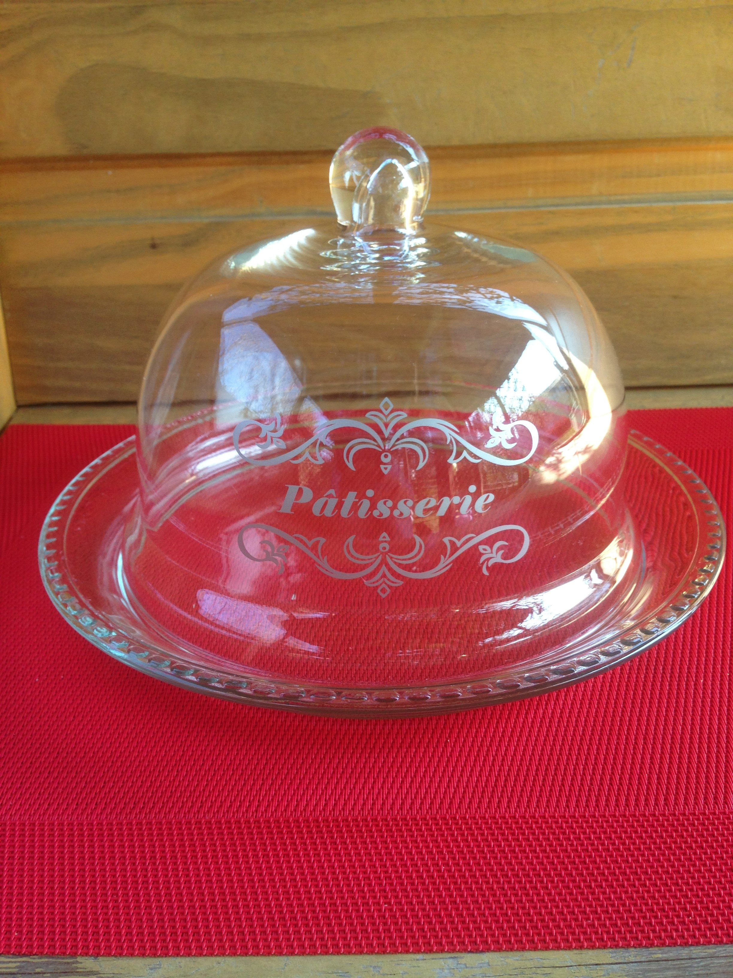 Cloche à pâtisseries
